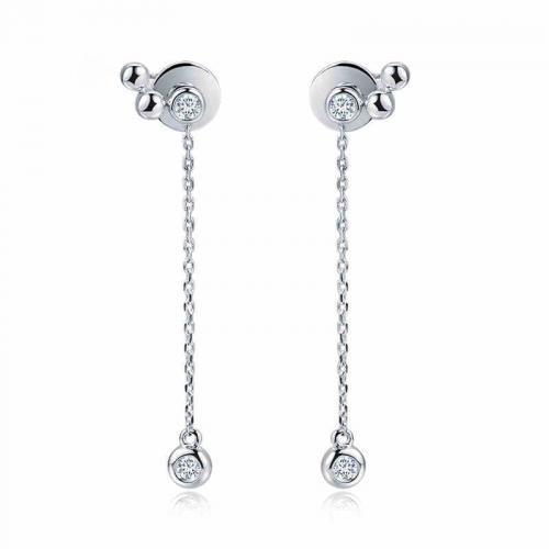 18K金钻石耳钉-至趣-钻石耳钉耳坠