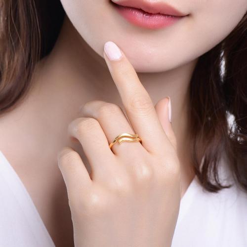十二星座之土象星座——黄金戒指足金女戒活圈口