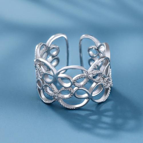 日韩女款S925银时尚唯美情侣闺蜜戒指指环戒圈 千种相思