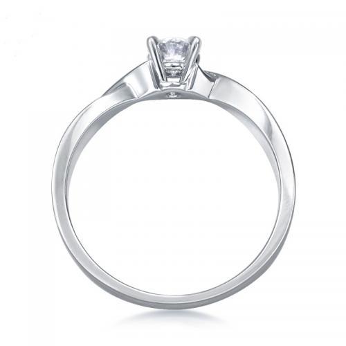 周生生Pt900铂金钻石戒指全爱钻婚嫁系列结婚钻戒女款