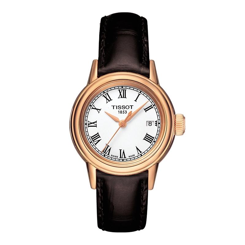 天梭(TISSOT)瑞士手表 卡森系列钢带石英情侣表女士手表T085.210.36.013.00
