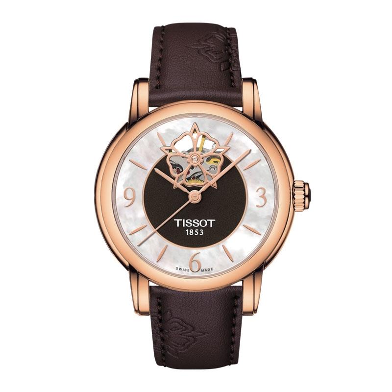 天梭(TISSOT)瑞士手表 心媛系列机械女士手表T050.207.37.117.04