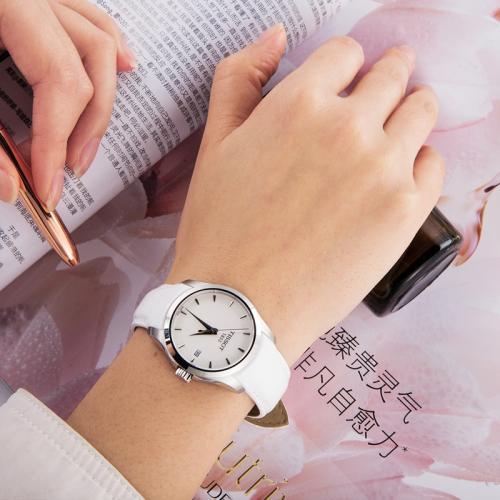 天梭(TISSOT)瑞士手表 库图系列皮带石英女士手表T035.210.16.011.00