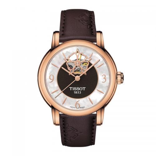 天梭(TISSOT)瑞士手表 心媛系列机械女士手表T050....