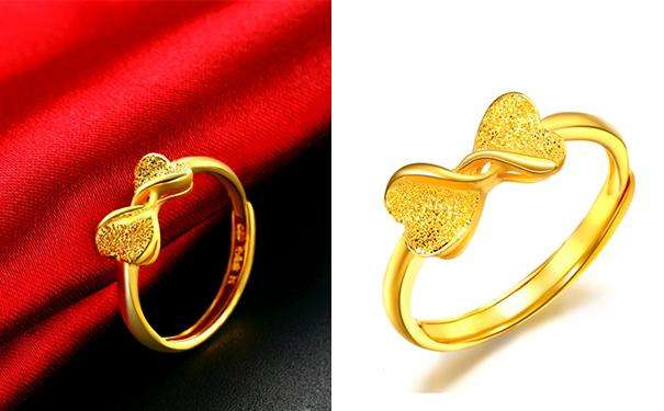 黄金戒指那种款式比较时尚